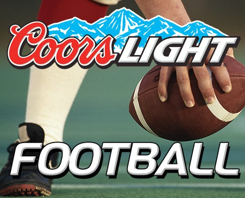 Coors Light Football at Backyard Bar & Grill