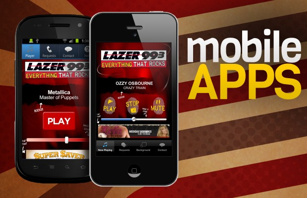 Lazer Mobile Apps