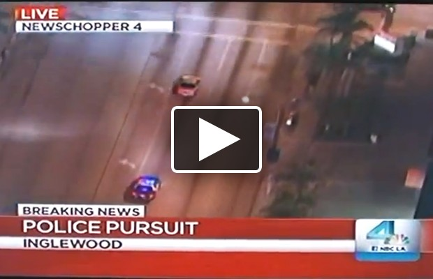 Police Chase Hits Close To Home…