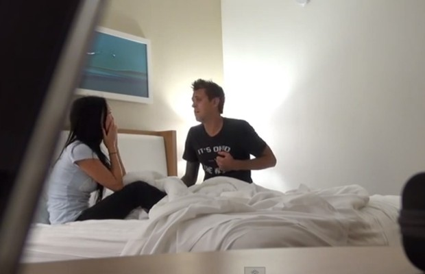 Guy Confesses To Cheating (TO his girl while on vacation)