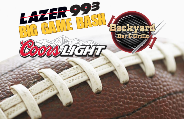 Big Game Bash at Backyard Bar & Grill