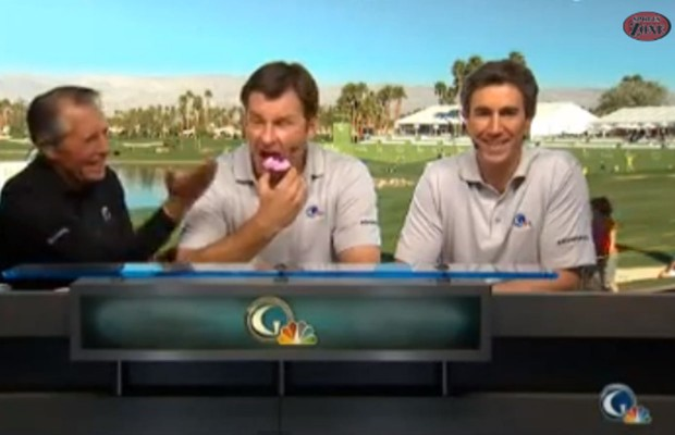 Golfers Easily Amused